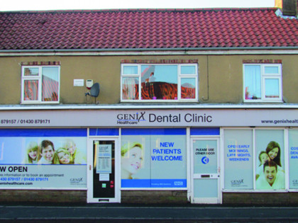 Genix Healthcare - Market Weighton